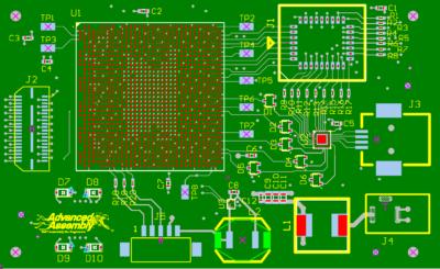 DFA circuit board